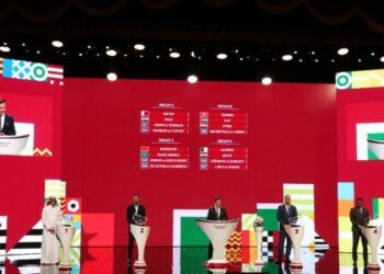 CAF President Motsepe attends FIFA Arab Draw in Doha