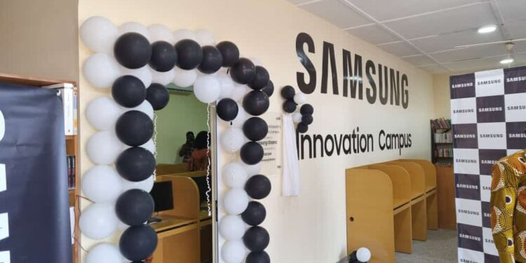 Front view of the Samsung Innovation Hub