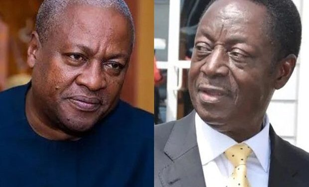 It'll be difficult for you to beat Mahama in primaries – Ben Ephson to Duffour